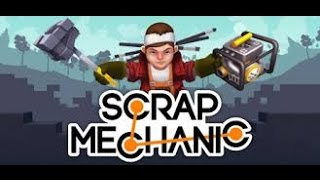 Scrap Mechanic обучение #1 машина