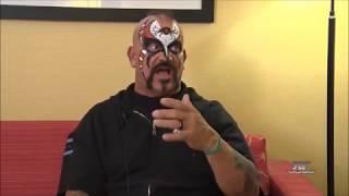 Road Warrior Animal On Sting & Lex Luger