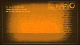 This is the song 'Want You Gone' that play during the Portal 2 credits at the end of the game.. Lyrics: Well here we are again It's always such a pleasure Re...