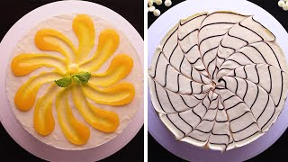 15 Easy Ways to Decorate Cakes Using Your Kitchen Items! So Yummy