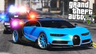 gta 5 bugatti veyron police chase - Thủ thuật máy tính - Chia sẽ