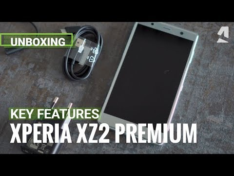 Sony Xperia XZ2 Premium's best new features and unboxing