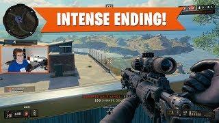 INTENSE ENDING! | Black Ops 4 Blackout | PS4 Pro