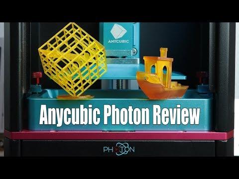 Anycubic Photon Review – $539 DLP 3D Printer || Moai Comparison