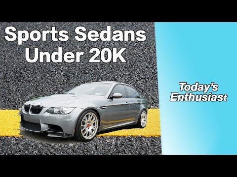 5 Best Used Sports Sedans For Under 20K