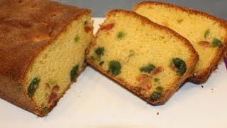 Tutti Frutti Cake/ Sri Lankan Tea Cake
