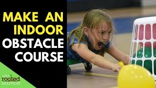 Indoor Toddler And Preschool Play Ideas - Obstacle Course