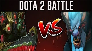 Dota 2 Battle #14 | Spirit Breaker Versus Wraith King
