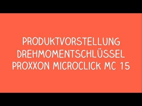 Proxxon MicroClick MC 15 Drehmomentschlüssel
