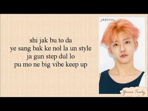 NCT DREAM - We Go Up (Easy Lyrics)