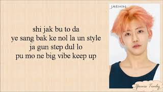 NCT DREAM - We Go Up (Easy Lyrics)