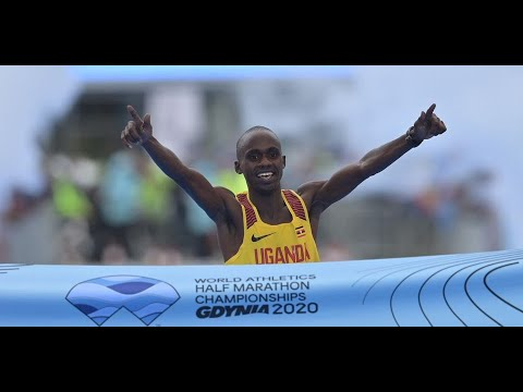 Uganda's Kiplimo stuns Kandie to win World Half Marathon gold