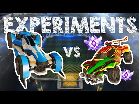 More Rocket League Experiments