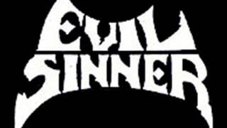 Evil sinner - thrashers 1989  - us