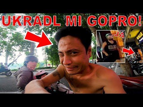 UKRADL MI GOPRO! - SKÚTRVLOG #1