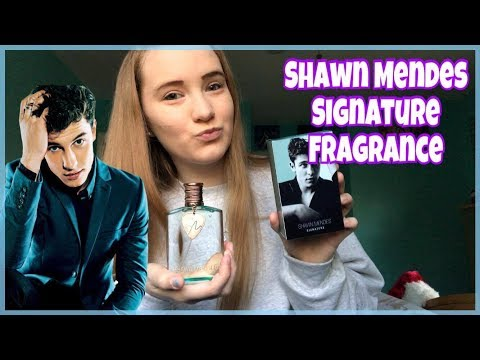 💙Shawn Mendes Signature Fragrance REVIEW💙| Sara Harlee