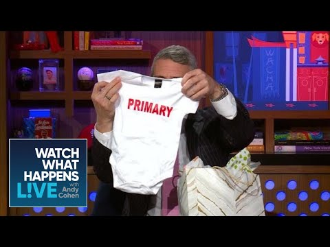 rebecca-romijn-and-jerry-o'connell's-baby-gifts-for-andy-cohen--wwhl