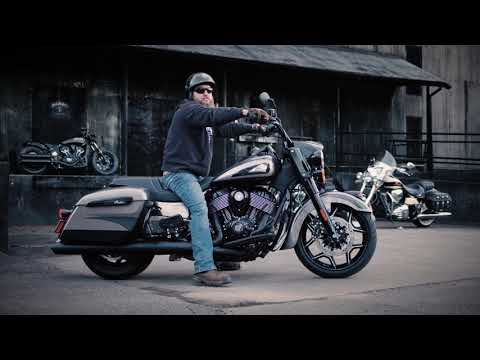 2020 Indian Jack Daniel's® Limited Edition Springfield® Dark Horse® in Saint Paul, Minnesota - Video 2
