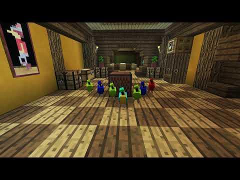 Minecraft - Tancující Papoušci