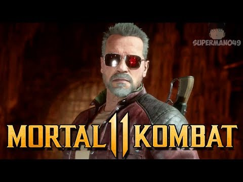 "Mortal Kombat 11: Terminator Story Ending! - MK11: ""Terminator"" Gameplay Klassic Tower Playthrough!"