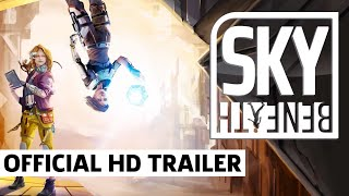 Sky Beneath - Exclusive Trailer For The Gravity-Defying Puzzle Platformer