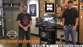 Dayton Kane Learns Customization with Corey at Open Road Harley-Davidson