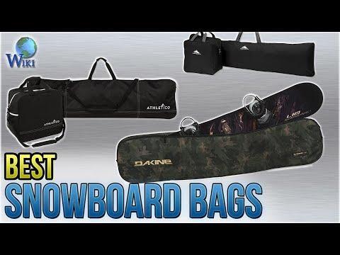 10 Best Snowboard Bags 2018