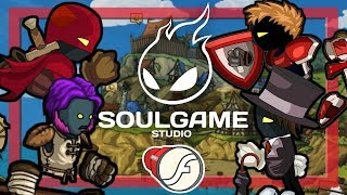 Flashlight: SOULGAME STUDIO / Rogue Soul / Swords and Souls / Developer Interview | 2 Left Thumbs
