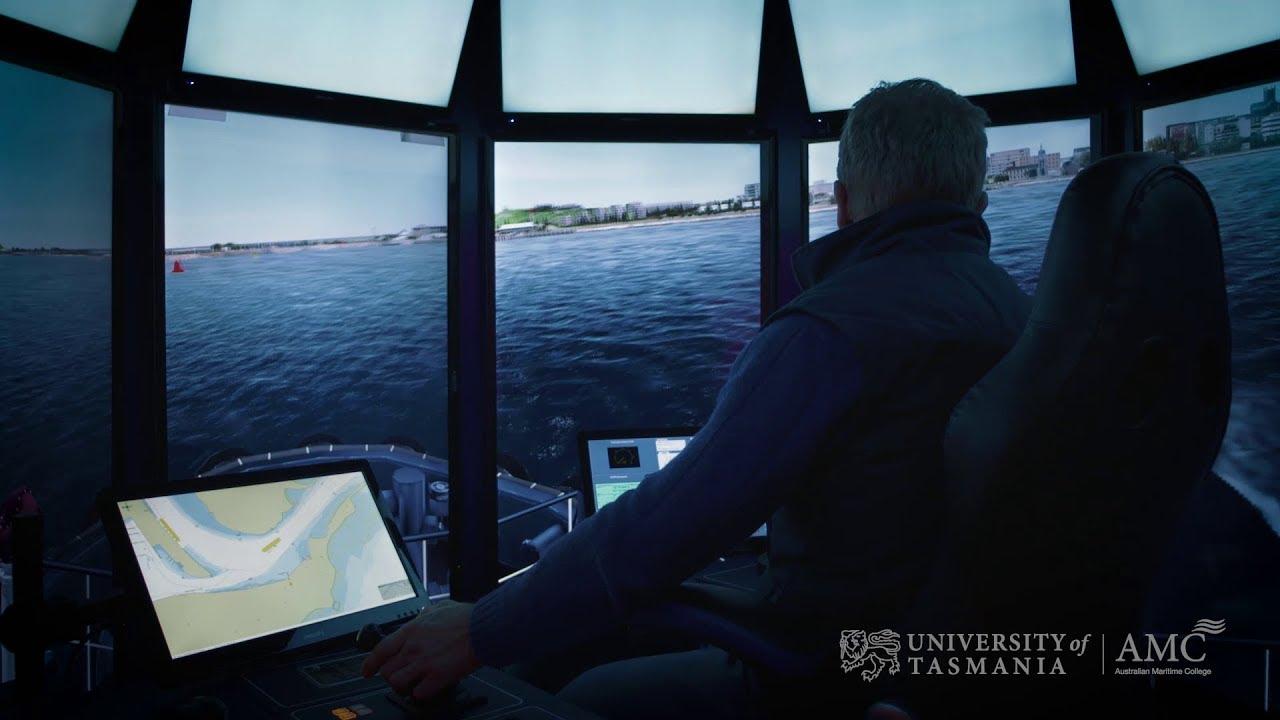 Play video: Main Bridge Simulator