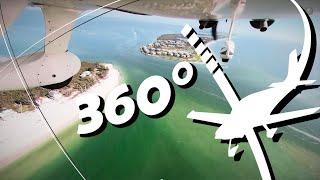 360 Video Flyover - Sanibel Island, Captiva Island, Cayo Costa (Florida 2018)
