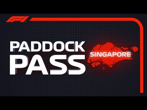 F1 Paddock Pass: Post-race At The 2018 Singapore Grand Prix