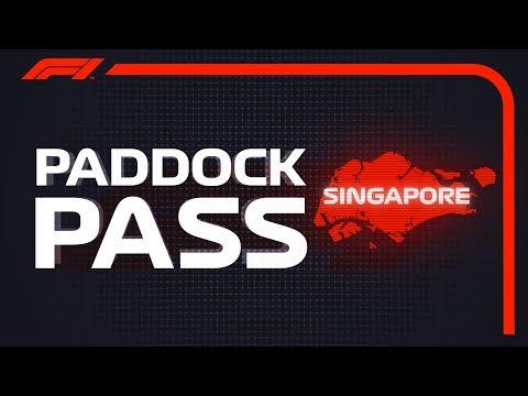 F1 Paddock Pass: Post-race At The 2018 Singapore Grand Prix
