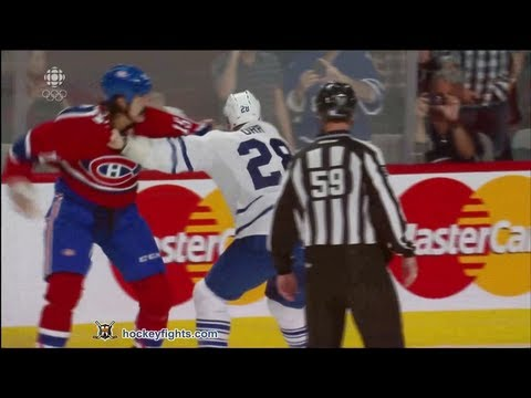 George Parros vs. Colton Orr