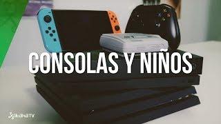 PS4, Xbox One X, Nintendo Switch: ¿La MEJOR consola para NIÑOS?