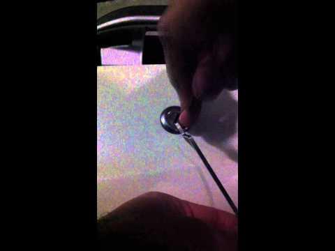 comment ouvrir la selle d'un xevo sans batterie