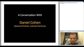 327th 1M/1M Roundtable October 27, 2016: With Daniel Cohen, Carmel Ventures