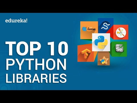 Top 10 Python Libraries | Python Certification Training for Data ...