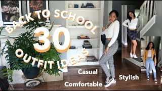 30 BACK TO SCHOOL OUTFIT IDEAS | High School & College