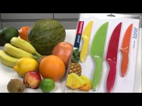 Video Antiadhezní nůž univerzální Tescoma PRESTO TONE 1