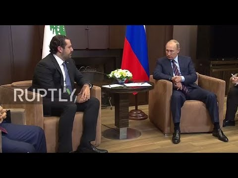 Russia: Lebanese President aims to improve economic ties with Russia