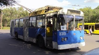 Угнали троллейбус, а в нем оказалась кондукторша. История из жизни.
