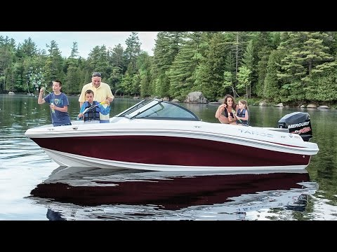 TAHOE Boats: 2017 550 TS Outboard Runabout Boat