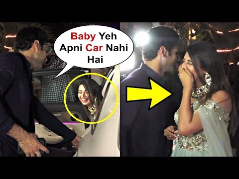 Divyanka Tripathi Sits In Wrong Car - Funny Moment At Ekta Kapoor Diwali Party 2018