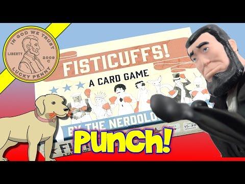 Fisticuffs Card Boxing Game
