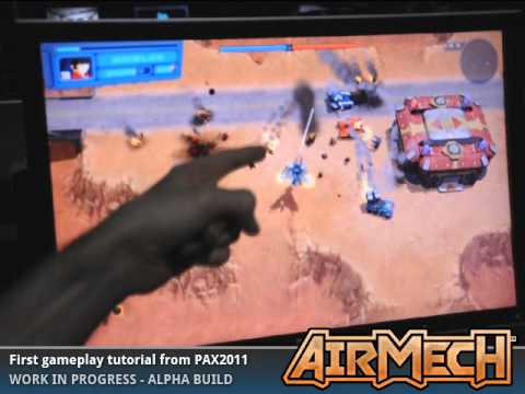 AirMech Is a Wonderful, Gorgeous Looking Game Similar to Herzog Zwei