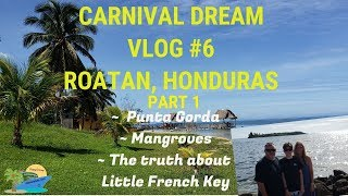 CARNIVAL DREAM VLOG #6 ROATAN, HONDURAS PART 1