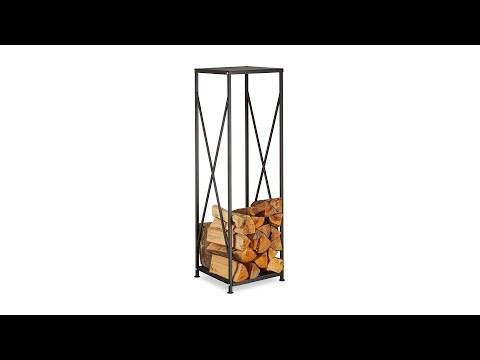 Kaminholzregal aus Stahl