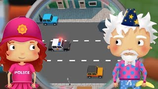 МАЛЕНЬКАЯ ПОЛИЦИЯ #12. Игровой мультик про полицию. Ловим бананового воришку в детской игре