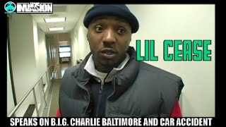Lil Cease Says Charlie Baltimore Was B.I.G.'s Girl And Was Cut Out The Movie Because Of Lil Kim