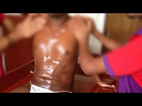Medicazioni saline per il trattamento dellarticolazione della spalla